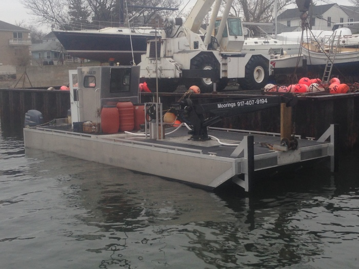 Newest addition to our fleet. Brand new in 2014 this is the state of the art mooring rig---- Bay Hauler